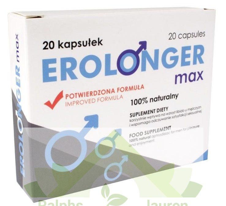 Erolonger Max – tabletki na erekcję