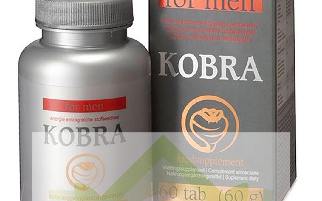 Kobra – tabletki na erekcję