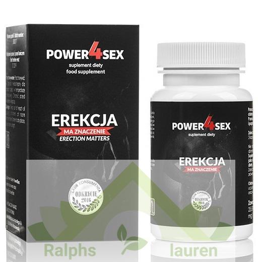 Power4sex – tabletki na erekcję