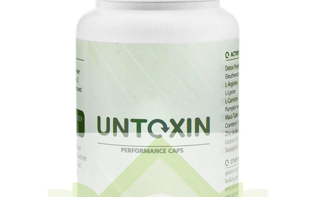 Untoxin – tabletki na oczyszczanie organizmu