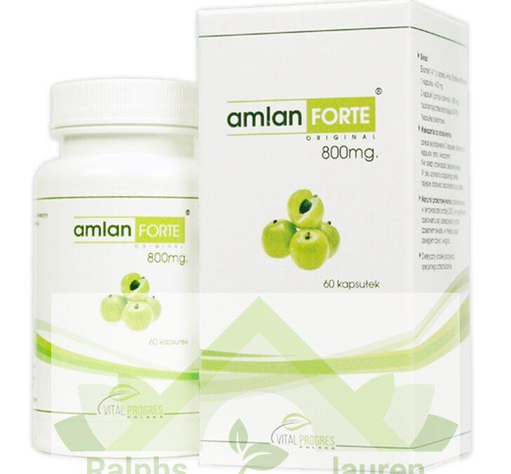 Amlan Forte Vital Progres – tabletki na odchudzanie