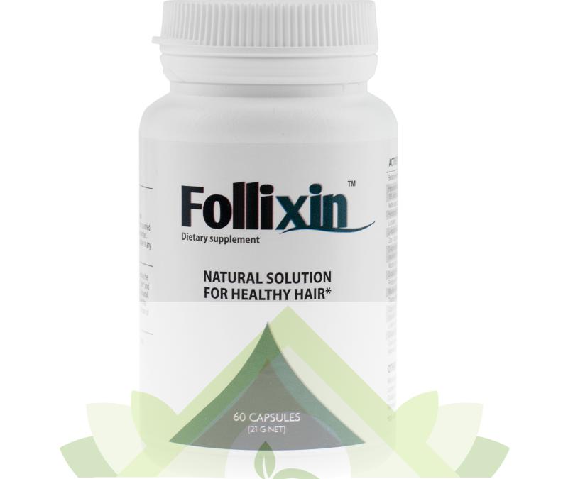 Follixin – tabletki na włosy